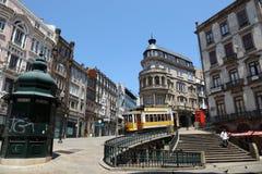 La ciudad vieja de Oporto, Portugal Fotos de archivo libres de regalías