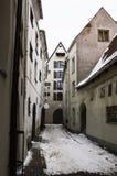 La ciudad vieja de Riga Imagenes de archivo