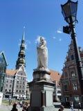 La ciudad vieja de Riga fotografía de archivo libre de regalías