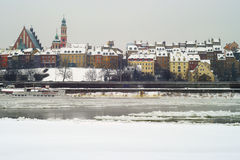 La ciudad vieja de Varsovia imagen de archivo