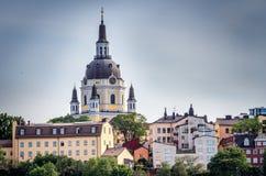La ciudad vieja en Estocolmo, Suecia Fotografía de archivo libre de regalías