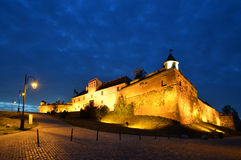 La ciudadela de Brasov, Transilvania, Rumania Imagen de archivo