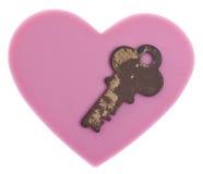 La clé à mon coeur Photo stock