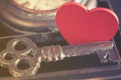 La clé à mon coeur Images libres de droits