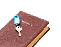 La clé au salut ou à la vie éternelle Photographie stock