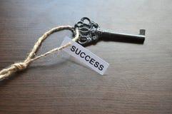La clé aux succes Photo libre de droits