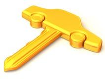 La clé du véhicule Photos libres de droits
