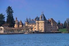La Clayette Ozenay i Frankrike Arkivfoto