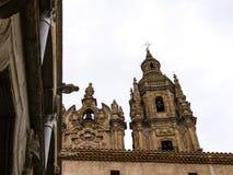 La Clerecia dalla Camera dello shellsÂ, Salamanca, Spagna Fotografie Stock