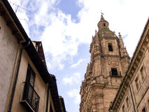 La Clerecia, Salamanca, Spain stock photography