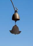 La cloche dans le temple. Photographie stock libre de droits