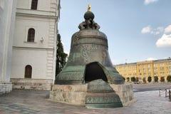 La cloche de tsar, territoire de Moscou Kremlin Images libres de droits