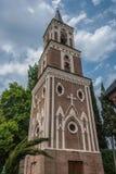 La cloche-tour Le couvent de St Nino Image stock