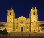 La Co-cattedrale di St John a La Valletta malta Fotografie Stock Libere da Diritti