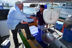 La Co des pêcheurs de la Gold Coast - Australie du Queensland Photos stock