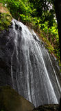La Coca Falls - Puerto Rico. La Coca Falls in the famous El Yunque Rainforest of Puerto Rico (USA Stock Photo