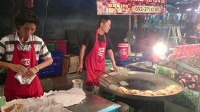 La cocina antigua de Tailandia