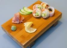 La cocina japonesa Foto de archivo libre de regalías