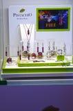 La colección del hielo y del fuego del lujo de la joyería JUNWEX Moscú 2014 Imagen de archivo libre de regalías