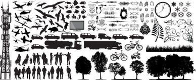 La colección más grande de vector Imagen de archivo libre de regalías