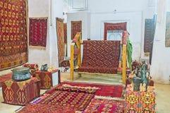 La colección de alfombras Foto de archivo libre de regalías