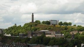 La colina de Calton, Edimburgo - Escocia Imagen de archivo libre de regalías
