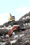 La colina de la basura Fotos de archivo libres de regalías