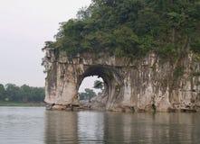 La colina del tronco del elefante Foto de archivo libre de regalías