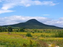 La colina formada sombrero Fotos de archivo