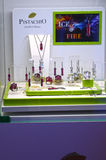 La collection de glace et du feu de luxe des bijoux JUNWEX Moscou 2014 Image libre de droits