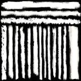 Brosses grunges de toile Illustration Stock