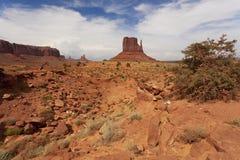 La collina ad ovest del guanto Immagine Stock