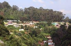 La collina alloggia il paesaggio Immagine Stock Libera da Diritti