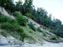 La collina vicino al Mar Baltico Fotografia Stock