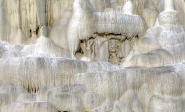 La colline de chaux d'Egerszalok Image stock