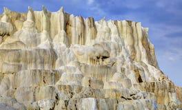 La colline de chaux d'Egerszalok Photo stock
