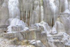 La colline de chaux d'Egerszalok Photo libre de droits