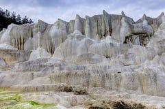 La colline de chaux d'Egerszalok Photographie stock
