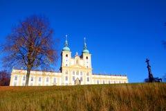 La colline sainte dans la République Tchèque Image stock