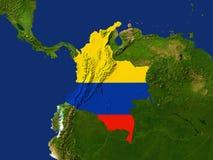 La Colombia Immagini Stock Libere da Diritti