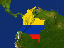 la Colombie Images libres de droits