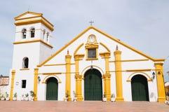 La Colombie, vue sur le vieux Mompos image libre de droits