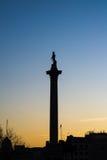 La colonna del Nelson Fotografia Stock