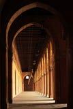 La colonna della moschea del tulun del ibn del sultano a Cairo Immagini Stock