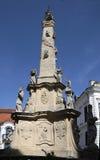 La colonna della trinità santa immagini stock