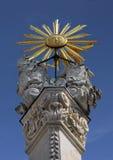La colonna della trinità santa fotografie stock