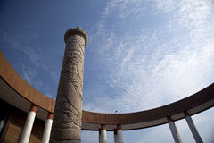 La colonna di marmo Fotografia Stock Libera da Diritti