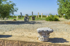 La colonna di marmo Fotografia Stock