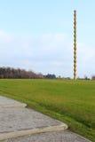 La colonna infinita di Constantin Brancusi Fotografia Stock