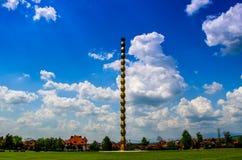 La colonna senza fine Fotografia Stock Libera da Diritti